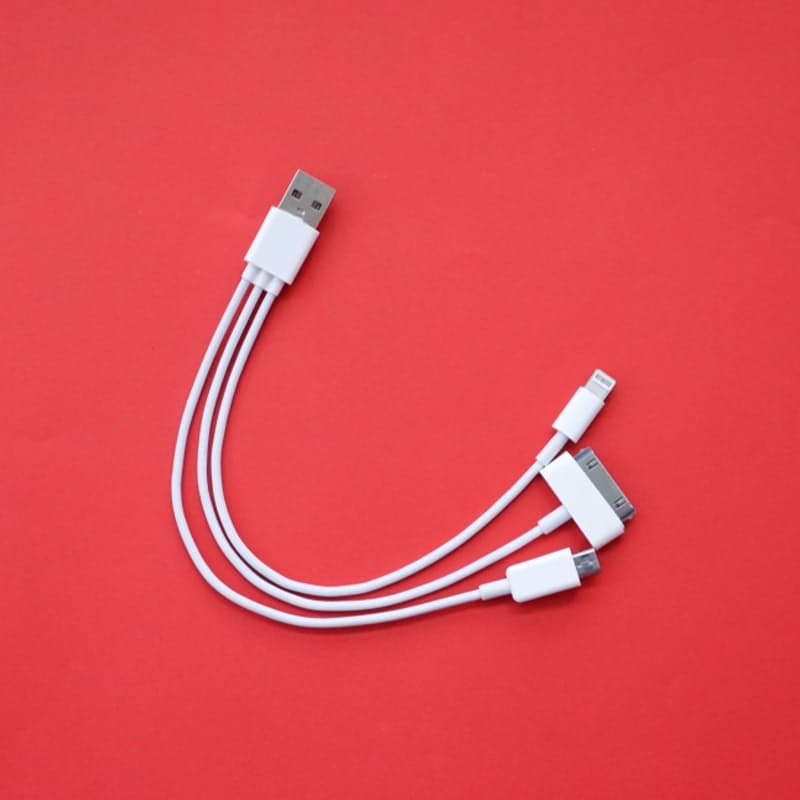 3-in-1 Charger & USB Data Transfer Cable