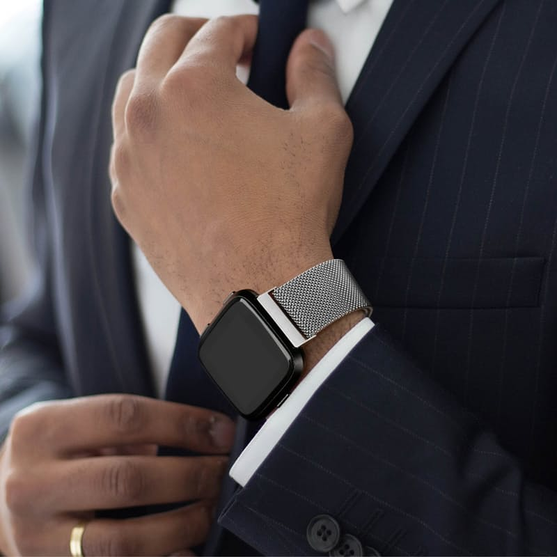 Milanese & Silicone Fitbit Straps (Alta, Charge 2 and Versa)