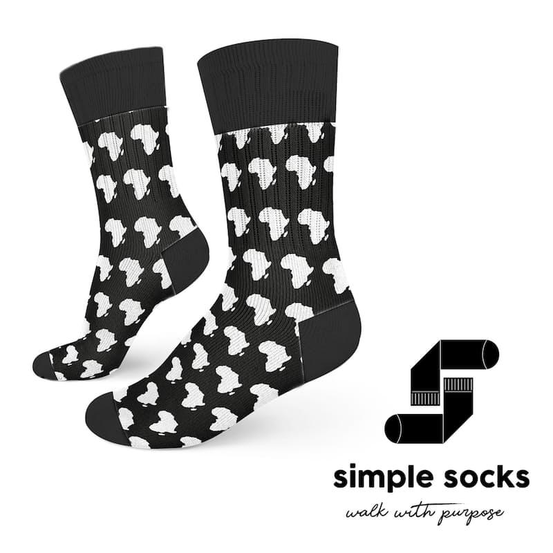 3 Pairs of Funky Printed Socks