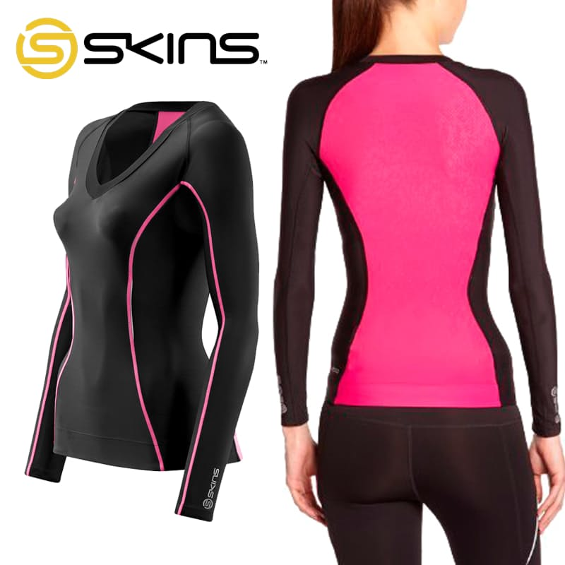 A200 Women's Long Sleeve Compression Top