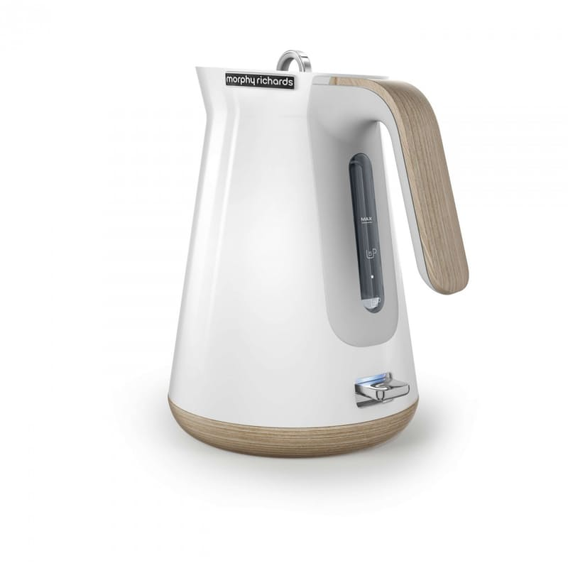 "1.5L Stainless Steel Cordless ""Aspect Wood Trim"" Kettle"