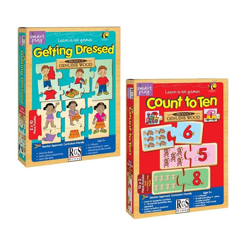 Children's Learning Getting Dressed & Count to Ten