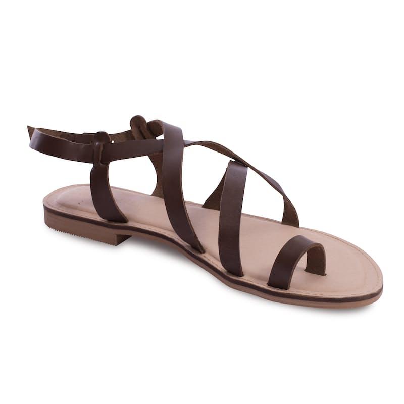 Genuine Leather Gladiator Sandal