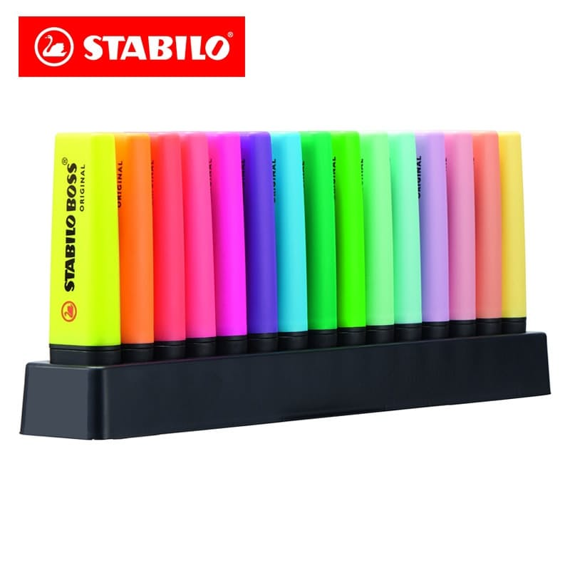15 Piece Highlighter Deskset