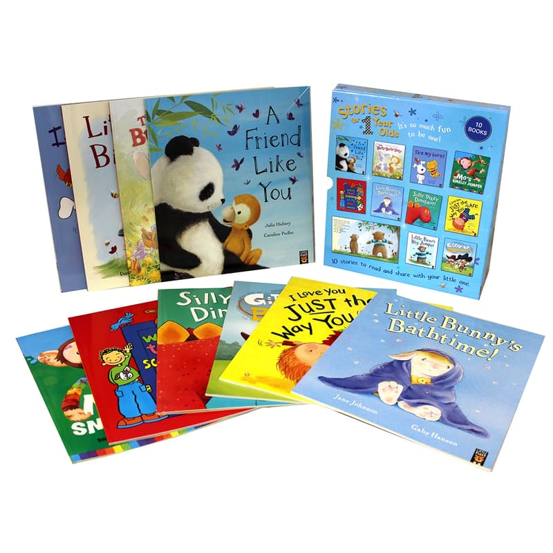 Stories for 1 Year Old's Children's Box Set (10 Books)