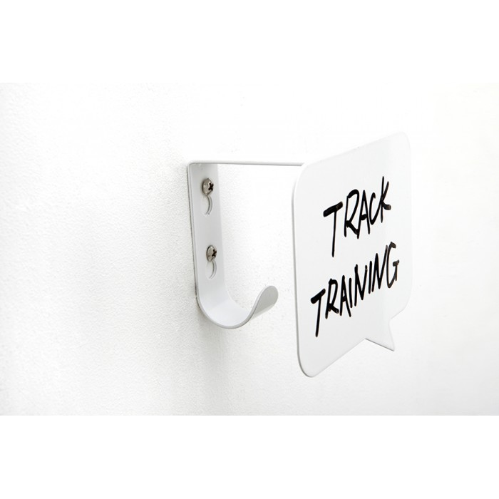 Set of 3 Umbra Talk Bubble wall hooks with message boards