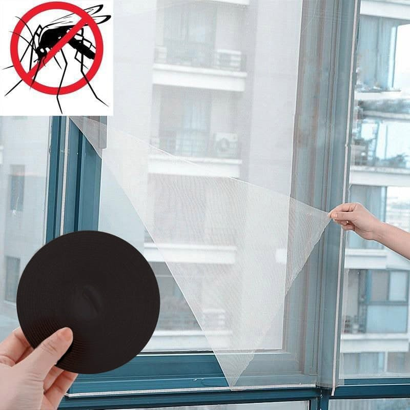 Pack of 2 DIY Magnetic Mosquito Nets for Windows