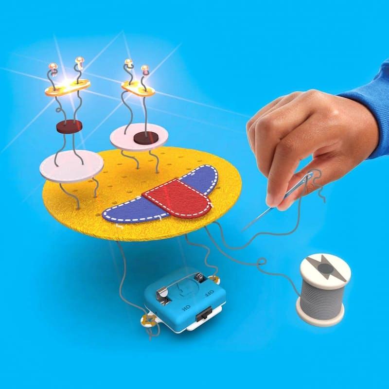 Sew and Glow Kit - Teaching Kids to Code