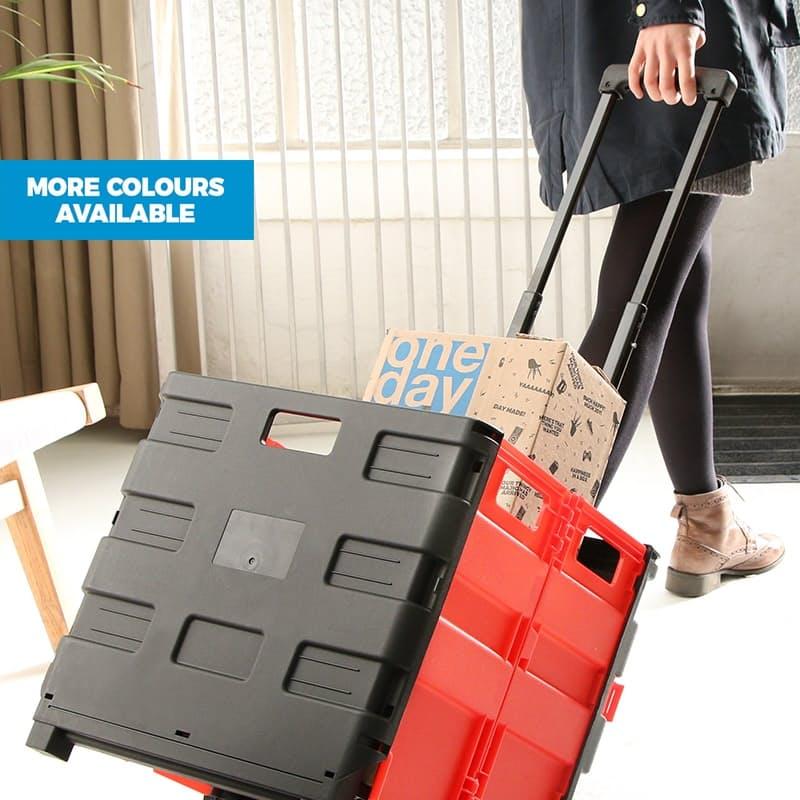 Heavy Duty Foldable Trolleys 35kg Load Capacity)