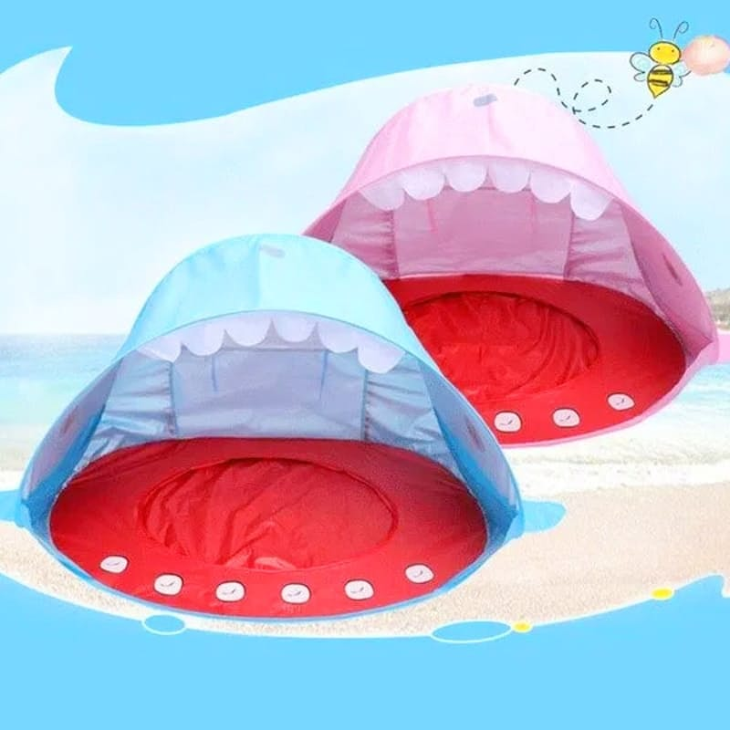 Kids Pop-Up Whale Beach Tent
