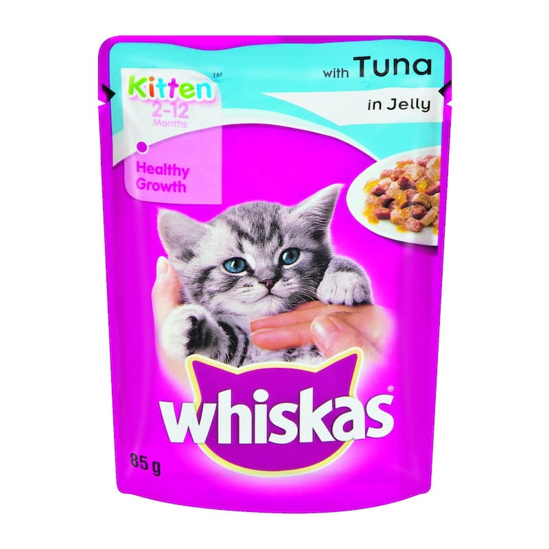 Pack of 48, 85g Kitten Wet Food Pouches (R8.10 per Pouch)
