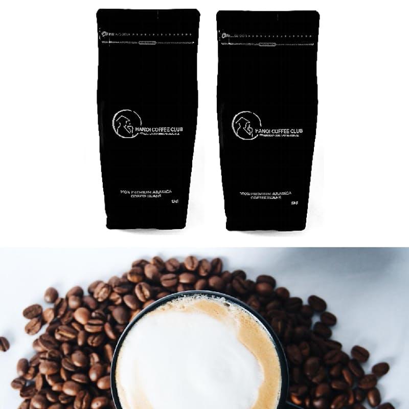 2x 1kg Premium Arabica Medium Roast Coffee Beans