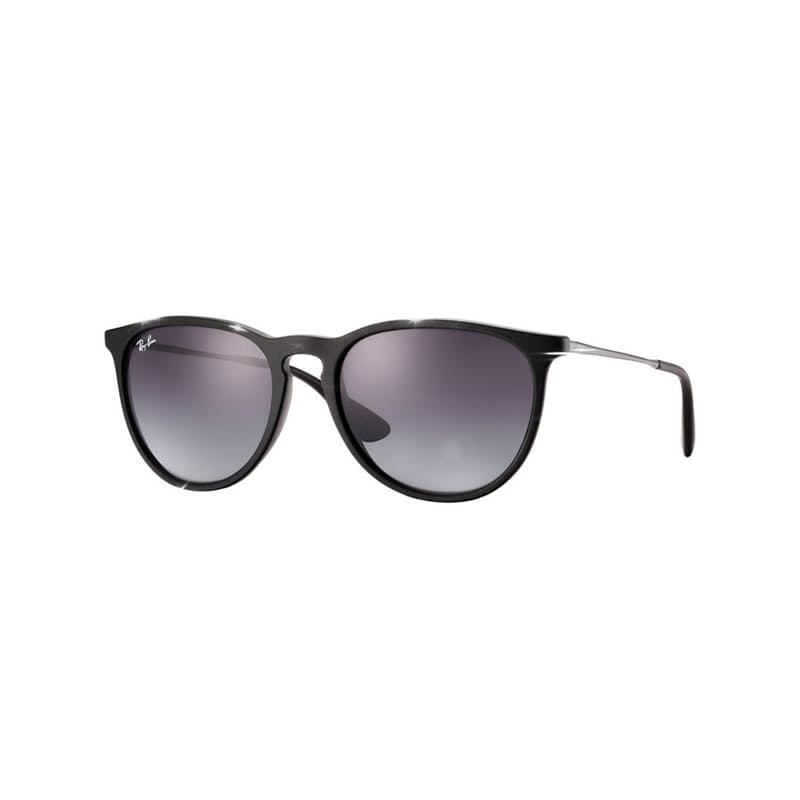 Erika Classic Shiny Black Sunglasses