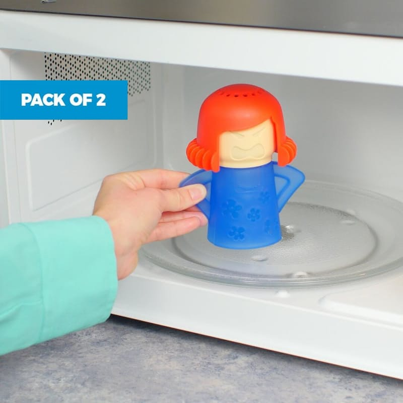 Pack of 2 Easy To Use Microwave Cleaners