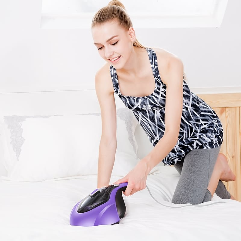 400w UV Anti-Dust Mite Handheld Vacuum with HEPA Filtration System