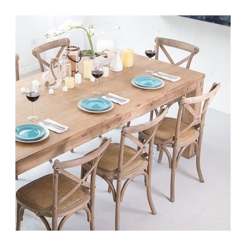 21% off on Vancouver Wooden Dining Table   OneDayOnly.co.za