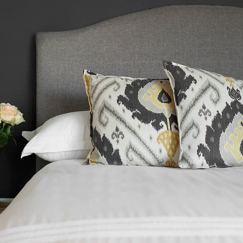 Madison Curve Linen Headboard (Multiple Sizes Available)