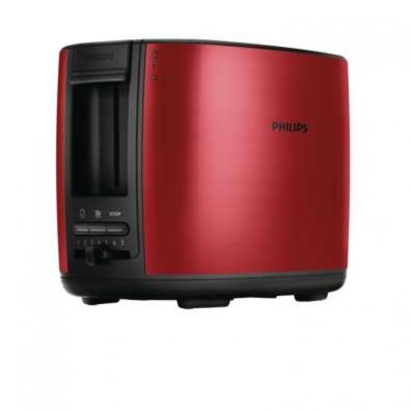 Viva Brushed Metal 2 Slice Toaster