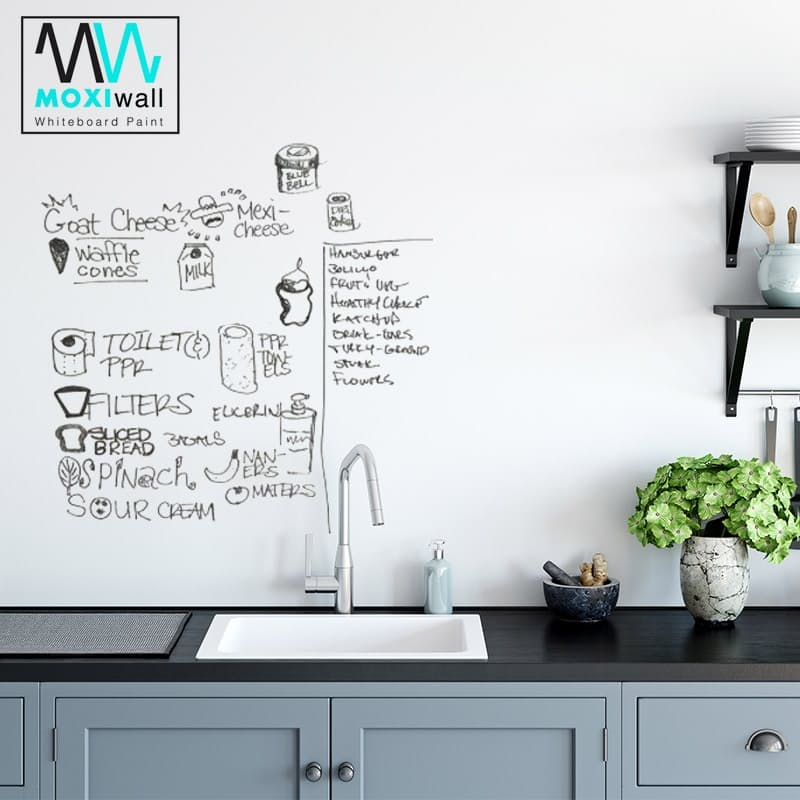 Transparent DIY Whiteboard Paint Kit