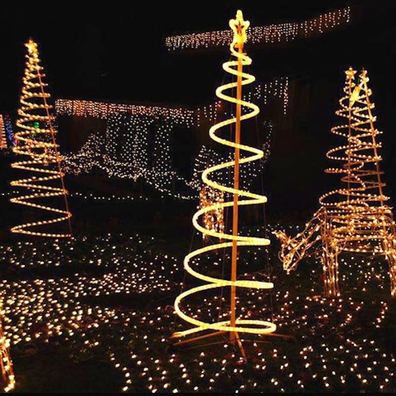 100m White Rope Lights