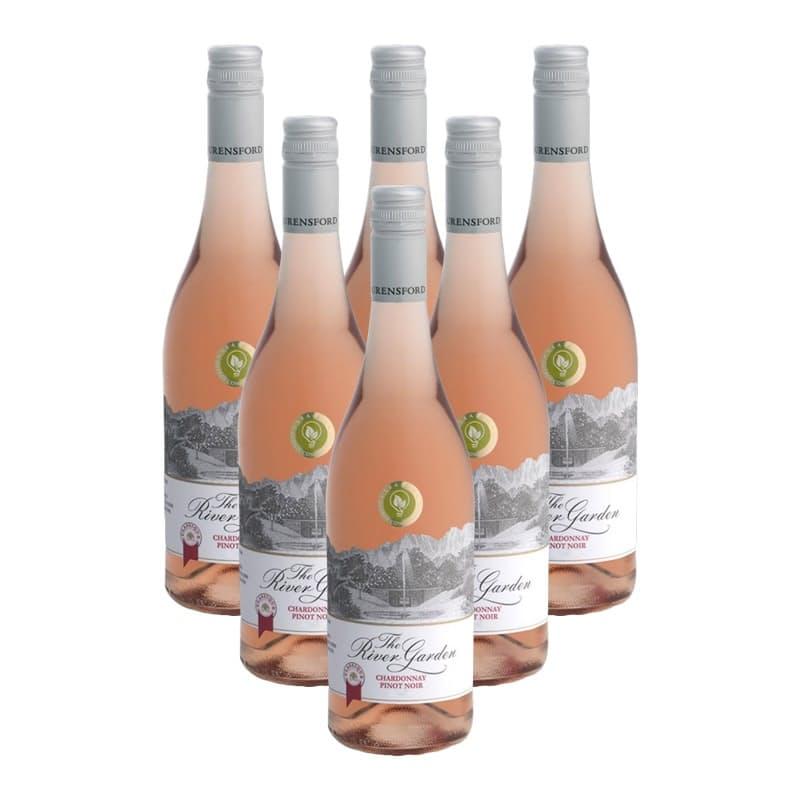 River Garden Classique Chardonnay/Pinot Noir 2019 (R74.83 per Bottle, 6 Bottles)