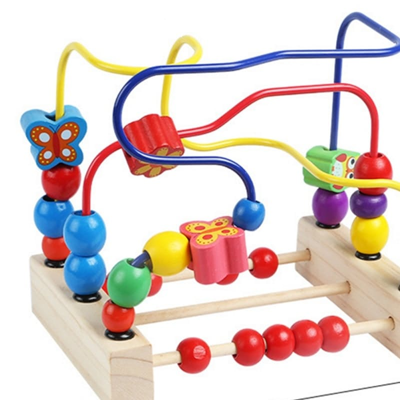 Wooden Bead Educational Toy
