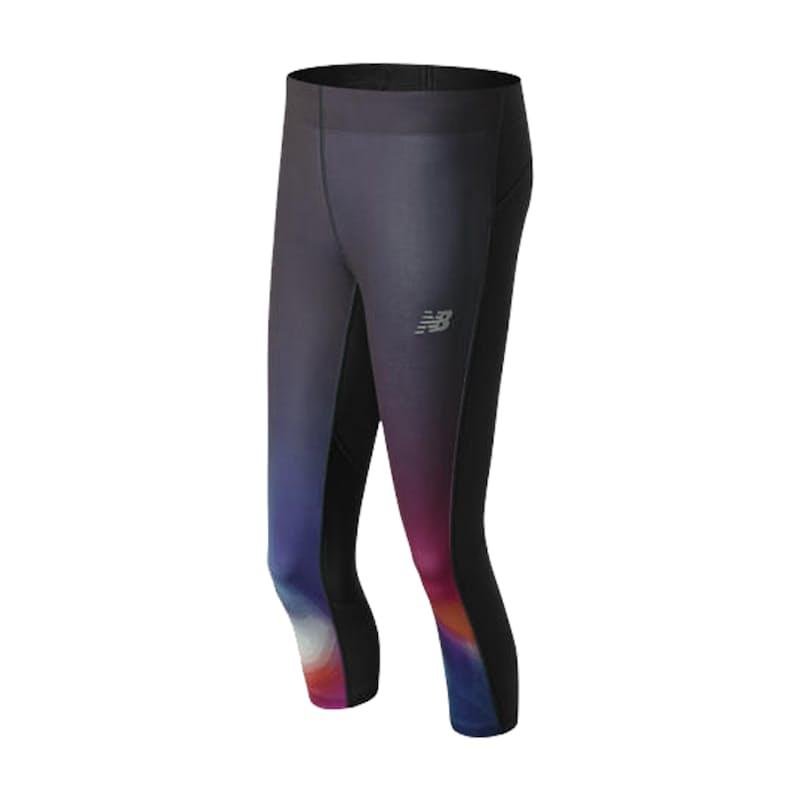 Women's Impact Premium Printed Running Capri